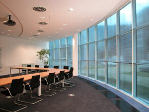 blinds to reduce building running cost